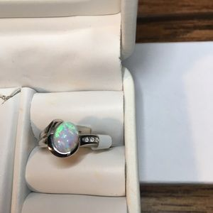 10 KT Lab created Opal Ring